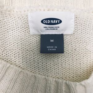 Old Navy Sweaters - Navy & White Striped Sweater